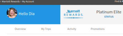 Marriott Platinum Challenge Completed! $467 = Four Status Bumps