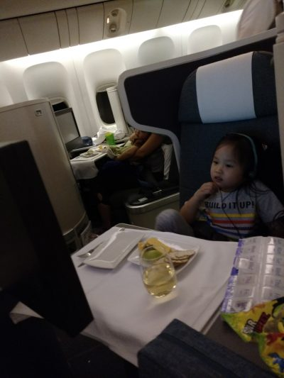 Hong Kong Revisited: Surviving the 15 hour flight with two young kids