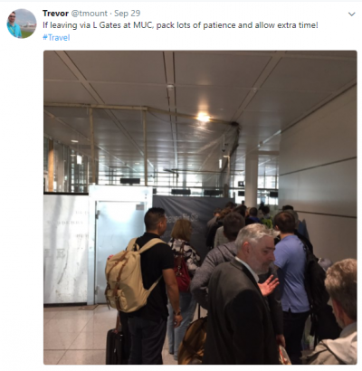Munich Airport's L Gates – Not ready for prime time!