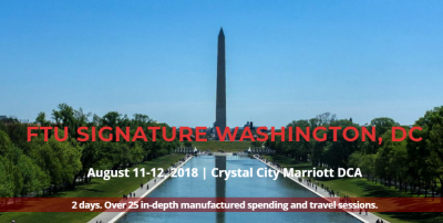 Will we see you at Frequent Traveler University DC next month?